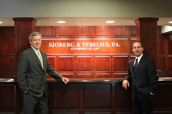 Photograph of Attorneys Sjoberg & Tebelius